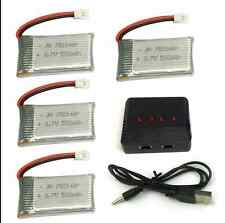 Usb Charger 1 To 4 for 4 Battery Syma X5c X5sc X5a H5c Lipo 3 7V 500 Mah 25c Rc