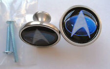 Star Trek Cabinet Knobs, Star Trek Logo Knobs, Star Trek USS Enterprise Knobs