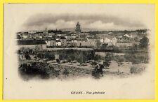 CPA France 13 - GRANS (Bouches du Rhône) Vue Générale Ecrite en 1915