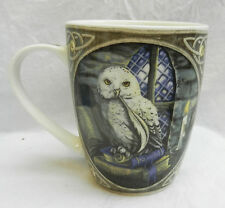 OWL Boxed Bone China Mug - Lisa Parker - SNOWY OWL - BNIB