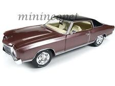 AUTOWORLD AMM1055 1971 71 CHEVROLET MONTE CARLO SS 454 1/18 ROSEWOOD BROWN