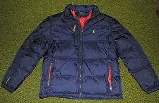 Men's $285 (L) POLO-RALPH LAUREN Navy Down Puffer Jacket/ Coat (ski)