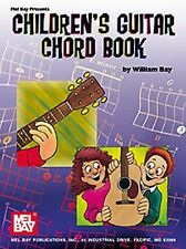Children's Guitar Chord Book by William Bay (2000, Paperback)