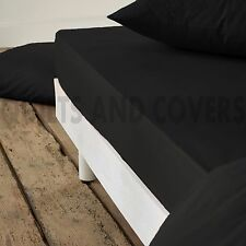 300 Thread Count 100% Combed Egyptian Cotton Luxury Fitted Sheet Extra Deep