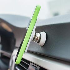 Weiß 360° Auto Kfz Magnet Halterung Halter Ständer für Handy GPS Tablet