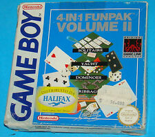 4 in 1 Funpack Volume 2 - Game Boy GB Nintendo - PAL