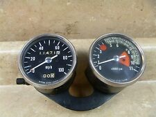 Kawasaki 350 F5 F9 F8 Used Tachometer Speedometer Gauges 1970 1971 #MT498