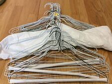 Lot of 50 Wire Metal Hangers,  Clothes Hanger