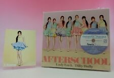 CD+DVD Photo card Afterschool Lady Luck/Dilly Dally Japan 1st Limited E-Young