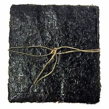 "300 sheets Organic dried Seaweed snack Laver Nori Vegan Gim ""SUN N SEA MADE"""