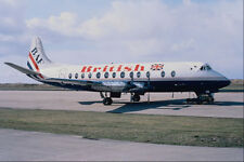 576056 British Vickers Viscount 804 Sumburgh Shetland UK A4 Photo Print