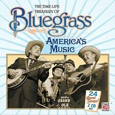 TREASURY OF BLUEGRASS The Dillards Dooley Cox Family Bill Monroe Flatt NEW 2-CDs