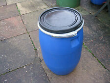 Mouse Vermine proof 30 Litre Plastic Tub/Barrel Chicken/Pet Food Storage Bin