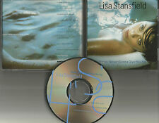 LISA STANSFIELD Never Gonna Give w/ RARE EDIT PROMO Radio DJ CD single You Up 97