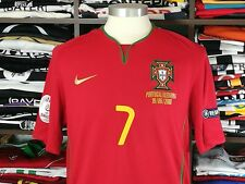 PORTUGAL home Euro2008 - C. RONALDO #7 - Real Madrid-Man Utd-Jersey-Camisola