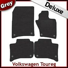 Volkswagen Touareg 2010 2011 Tailored LUXURY 1300g Car Mats GREY
