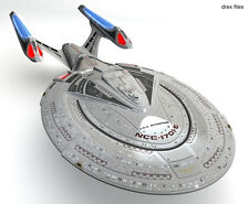 2013 AMT #853 1/1400 Star Trek Enterprise NCC-1701E Model Kit new in the box