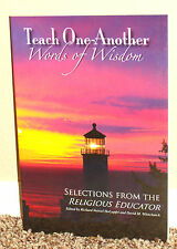 TEACH ONE ANOTHER WORDS OF WISDOM by Richard Holzapfel 2009 1STED LDS MORMON PB