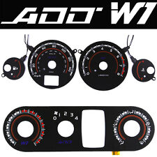 ADD W1 V1 Overlay Gauge + HAVE  FOR 04 05 06 Sentra SER Gauge Blue & White