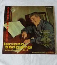 Luciano Sangiorgi pianoforte e ritmi Intorno al Mondo EX-/EX-