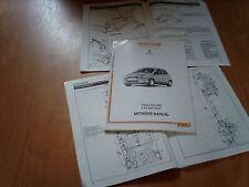 Corpo Riparazione Manuale Toyota Yaris S GS GLS CDX SR 1999 su