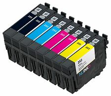 8PK Replacement Epson 252 Ink Cartridge for WorkForce WF-3620 WF-3640 WF-7110