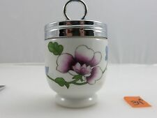 Royal Worcester ASTLEY Floral Egg Coddler Cup Vintage Made In England In Box