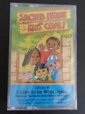 SACRED HEART KIDS' CLUB Album #1 Music Cassette NEW I Like to Be With Jesus 1987