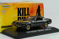 1979 Pontiac Firebird Trans Am Movie Kill Bill vol I II 1:43 Greenlight