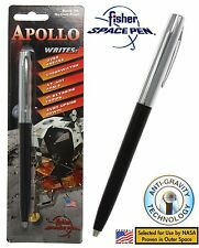 Fisher Space Pen #S251-BLK / Apollo Series Pen in Black & Chrome