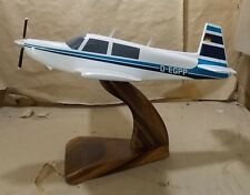 M20J Mooney Bravo Airplane Handcrafted Wood Model Large New