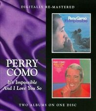 It's Impossible/And I Love You So by Perry Como (CD, Oct-2011, Beat Goes On)