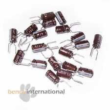 20x 4.7uF 50V 105°C ELECTROLYTIC CAPACITORS Radial Nichicon Low Impedance
