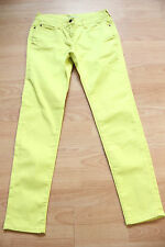BODEN  bright yellow denim  skinny   jeans size 10p petite  NEW