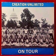 CREATION LIMITED On Tour Rare Private 70s Xian Choir Chorus Pop Soft Rock Disco