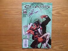 2006 MARVEL CLAWS # 3 WOLVERINE & BLACK CAT SIGNED JOSEPH LINSNER ART, WITH POA