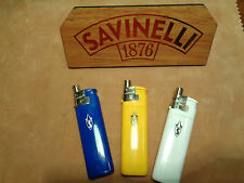 ACCENDINO LIGHTER PIPE/CIGARETTE BY SAVINELLI  3 PCS.COD. A800 077-16-00