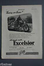 R& L Ex-Mag Advert: Excelsior Motorbike Talisman Twin Sports