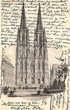 B3658 Germany Koln Dom Eglise Cathedral 1903  front/back scan