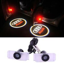 2 PICO PROJECTEUR COULEUR AUDI A LED SUR SUPPORT BAS DE PORTE