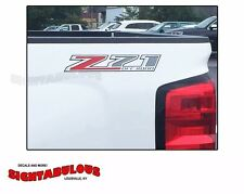 2014 2015 2016 2 Z71 Off Road 4x4 sticker decal Chevy Silverado GMC Sierra trucK