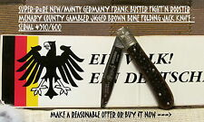 ULTRA-RARE NEW/MINTy GERMANY FRANK BUSTER FIGHT'N ROOSTER JIG'D BROWN BONE JACK
