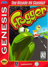 Frogger SEGA Genesis Framed Print (Mega Drive Man Cave Picture Game Gaming Art)