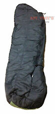 USGI MSS Intermediate Cold Weather Sleeping Bag Black Excellent NSN