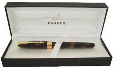 PARKER SONNET CHINESE LAQUE VISION 18K GOLD FINE  PT FOUNTAIN PEN NEW IN BOX