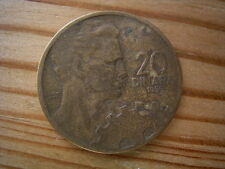 1955 Jugoslavia  20 Dinar Coin Collectable