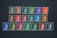 "WWII German 3rd Reich Stamps 1941 ""Profile of Adolph Hitler"" Full Set MNH & GIFT"