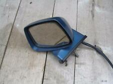Datsun/Nissan 280ZX Left/Passenger Side Mirror -Blue/Silver