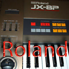ROLAND JX-8P HUGE Original Factory & New Created Sound Library & Editors on CD
