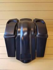 HARLEY DAVIDSON 4¨ EXTENDED SADDLEBAGS LIDS AND REAR FENDER TOURING 98-2013